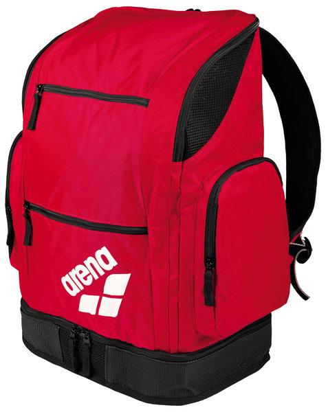 d6646c0e0308e Czerwona odsłona sprawdzonego pakownego plecaka marki Arena. W tej  kolorystyce plecak używany jest przez pływacką Kadrę Narodową.