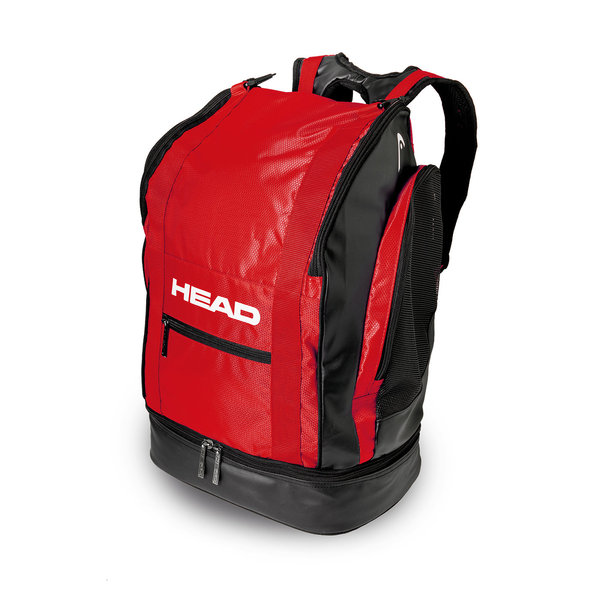HEAD PLECAK TOUR BACKPACK40  black/red  37x50x25 455106