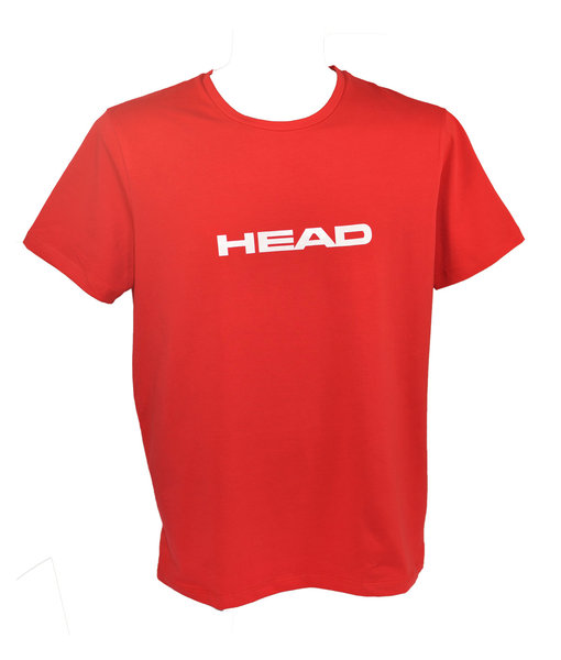 HEAD KOSZULKA SWIMMING TEAM T-SHIRT MAN RED