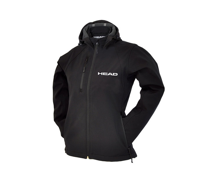 HEAD DAMSKA KURTKA SOFT SHELL LADY black