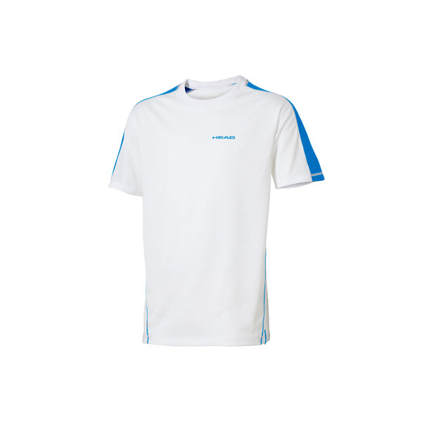 HEAD KOSZULKA  SWIMMING TEAM T-SHIRT l.blue