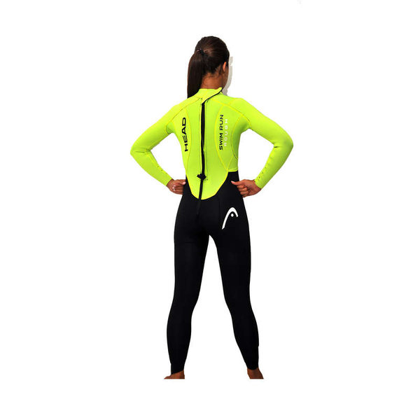 HEAD PIANKA SWIMRUN ROUGH LADY WETSUIT 4.3.2 452318BKYW