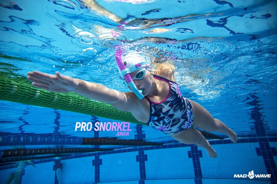MAD WAVE JUNIOR RURKA CZOŁOWA SNORKEL PRO
