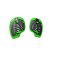 MAD WAVE WIOSEŁKA  PADDLES  FUSION  black,green  m074801000w