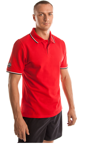 MAD WAVE KOSZULKA POLO SHIRT SOLIDS  RED M10230