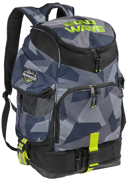 MAD WAVE DUŻY PLECAK BACPACK MAD TEAM  MULTI  M112901000W