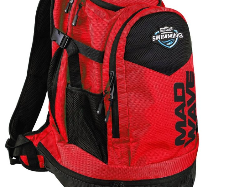 MAD WAVE PLECAK  BACKPACK LANE  RED  M112604005W